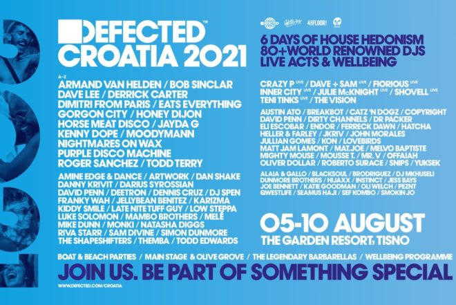 Defected najavljuje Defected Croatia 2021