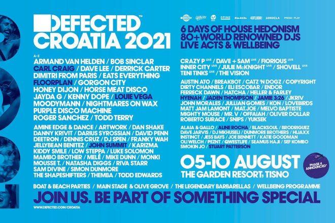 Defected Croatia objavio program za 2021.