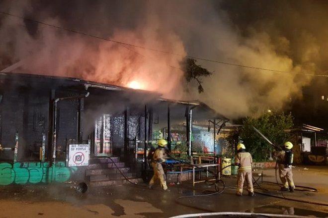 U podmetnutom požaru izgorio ljubljanski klub
