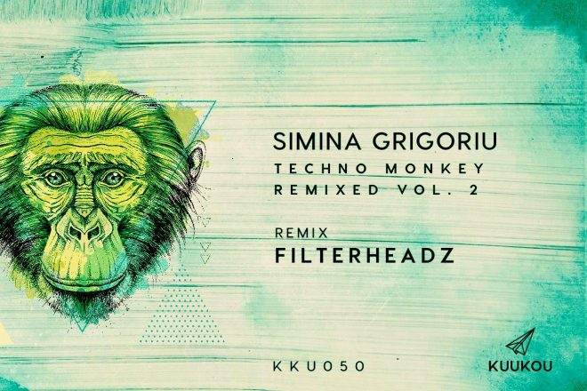 Premijera: Simina Grigoriu - Techno Monkey (Filterheadz Remix)