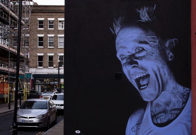 Keith Flint dobio mural u Hackneyu