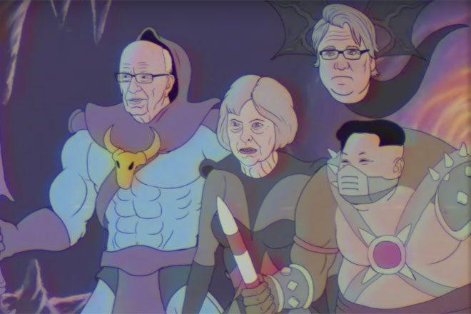 U novom Mobyevom videu pojavljuju se robot Donald Trump i zločesta Theresa May