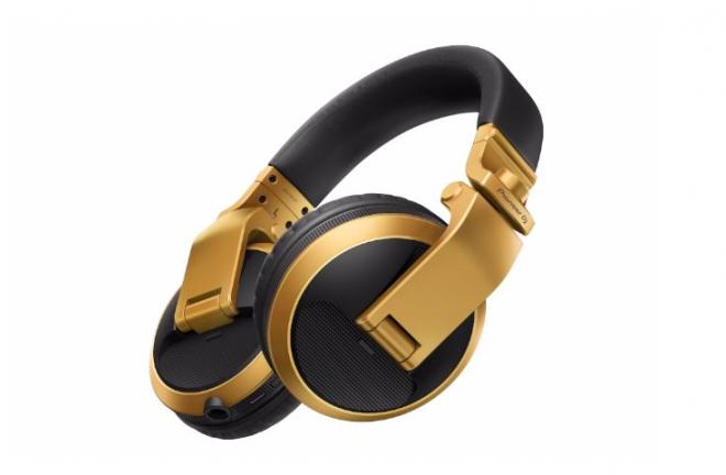 Pioneer predstavio zlatnu verziju svojih HDJ-X5BT-N slušalica