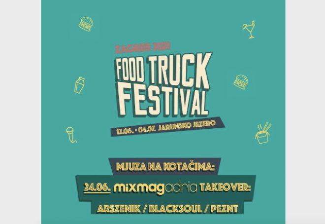 Mixmag Adria Takeover na Food Truck Festivalu