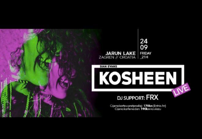 Jeste li spremni za Kosheen Live?