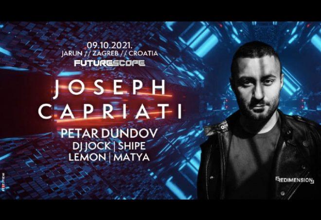 Jospeh Capriati zatvara sezonu open air partyja Future Scopea