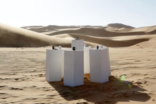 """Umjetnička instalacija u pustinji svirat će pjesmu 'Africa' od Totoa """"cijelu vječnost"""""""