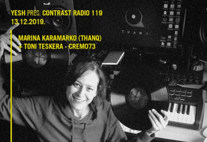 Proslava THANQ labela u Contrast Radio showu