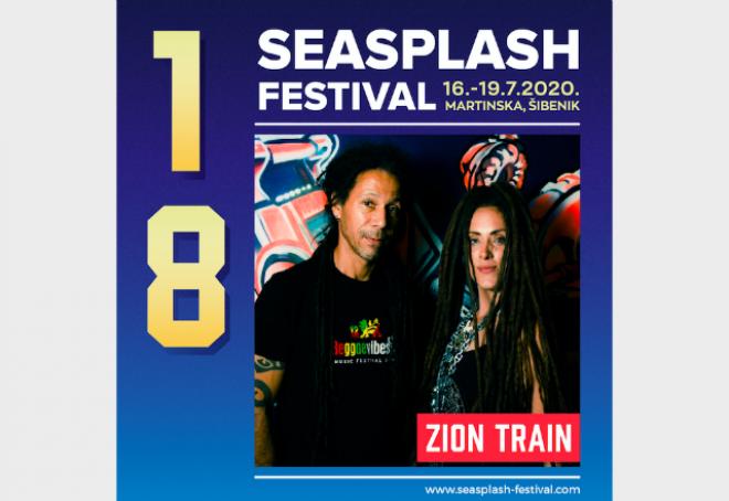 Na Seasplash festival dolaze dub pioniri Zion Train
