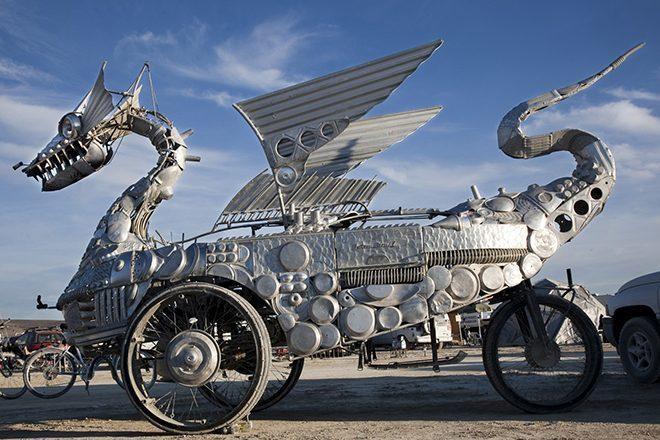 Gigantske skulpture s festivala Burning Man izlažu se u muzeju Smithsonian