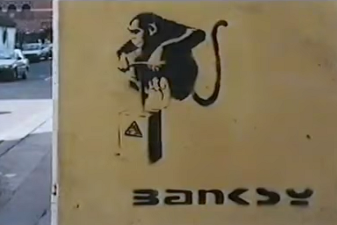 Video: Intervju s Banksyem iz 1995. godine