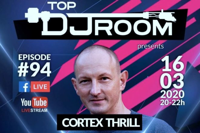 Cortex Thrill na Top DJ Roomu 16. ožujka u 20h