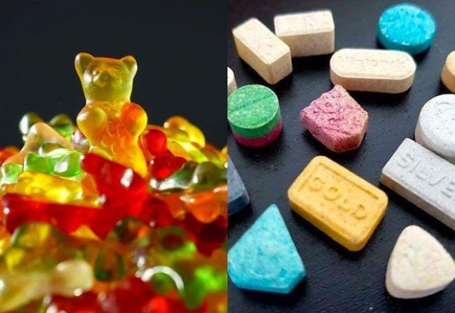 Francuska policija hvalila se zapljenom milijun funti vrijednog ecstasya; bili su to Haribo bomboni...
