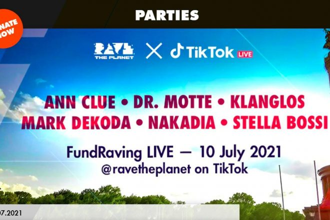 FundRaving LIVE Rave The Planet X TikTok