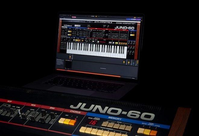 Roland rekreirao Juno-60