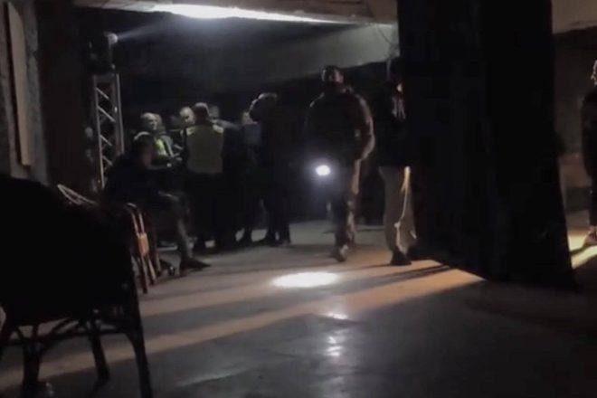 U kijevskom klubu Jugendhub provedena oružana policijska racija
