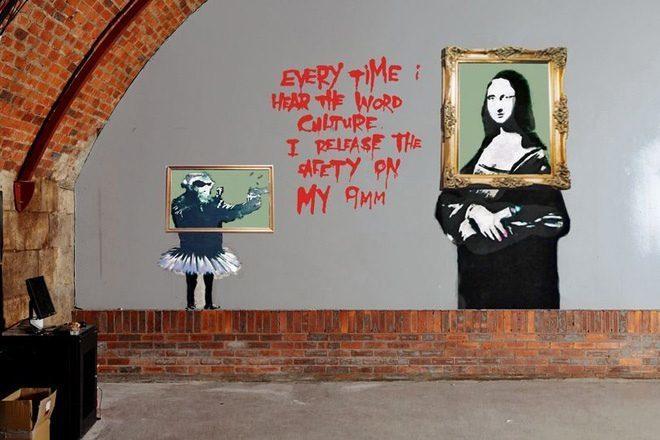 Restaurira se jedan od prvih Banksyjevih murala u Glasgowu