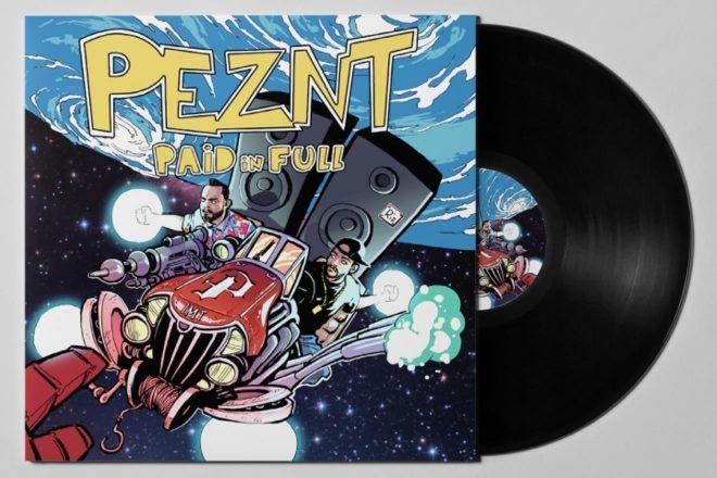 Vinilno izdanje albuma PEZNT - ''Paid In Full'' u distribuciji putem mreže PDV Recordsa