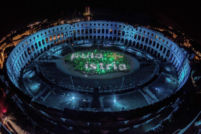 Visualia Festival svjetla u Puli slavi 5 godina postojanja