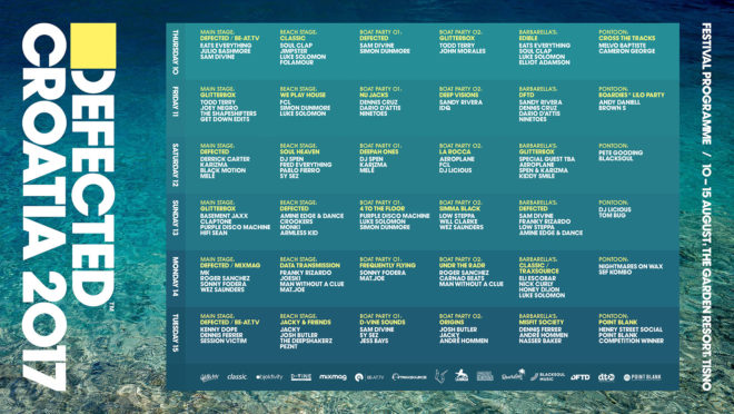 Defected Croatia kompletirao line up za svoje drugo izdanje 3