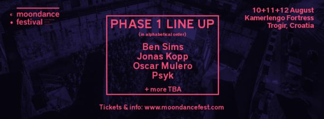 Vodeća imena underground techna dolaze na trogirski Moondance Festival 3